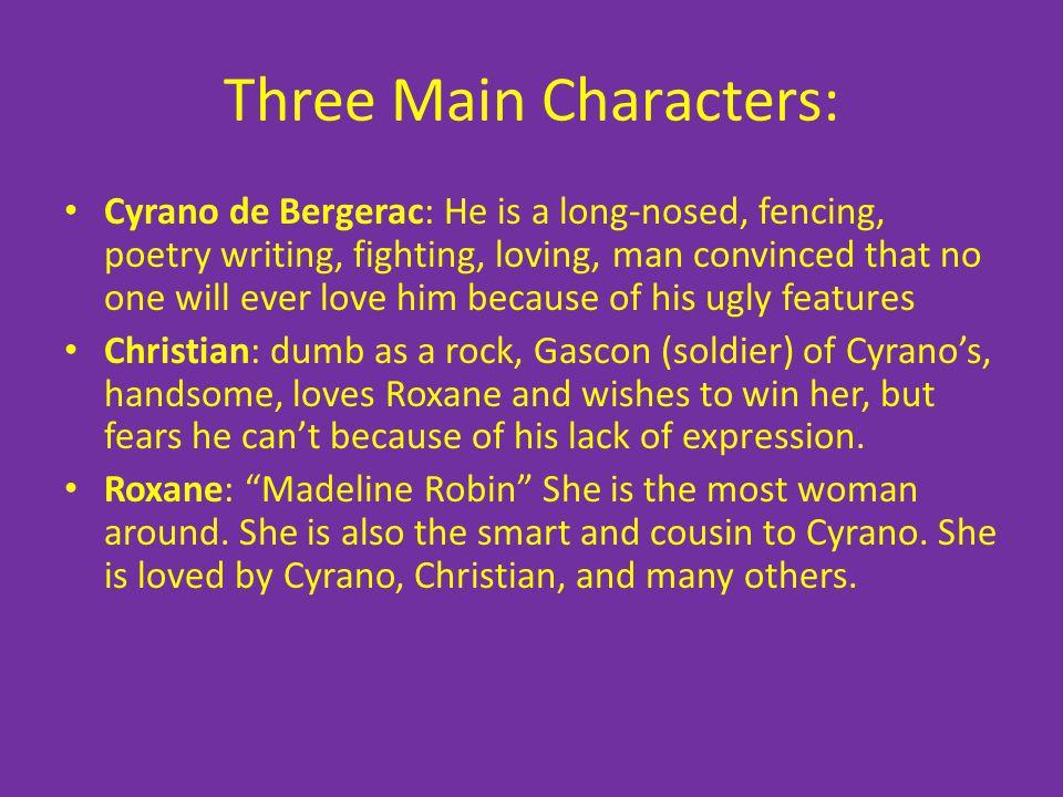 Three Main Characters: