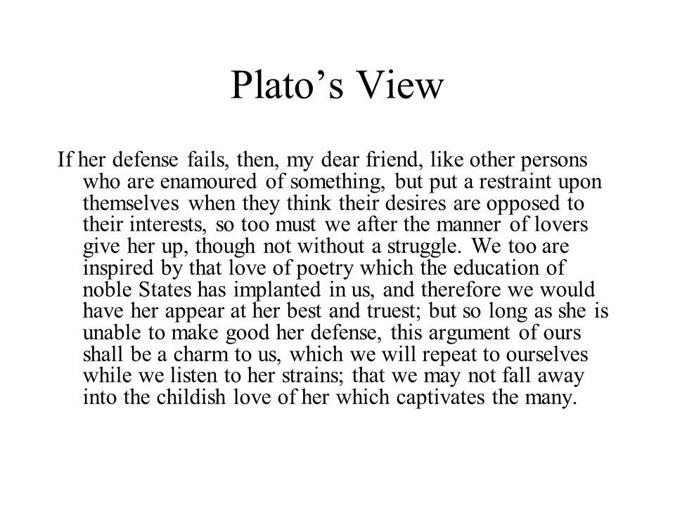 Plato's View
