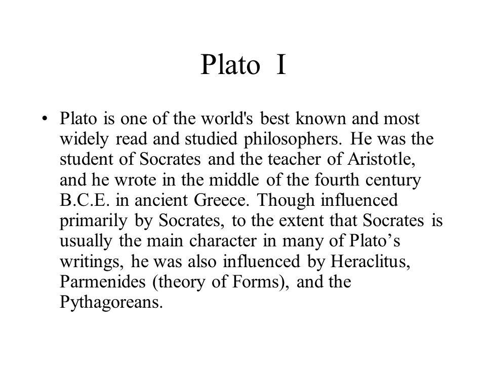 Plato I