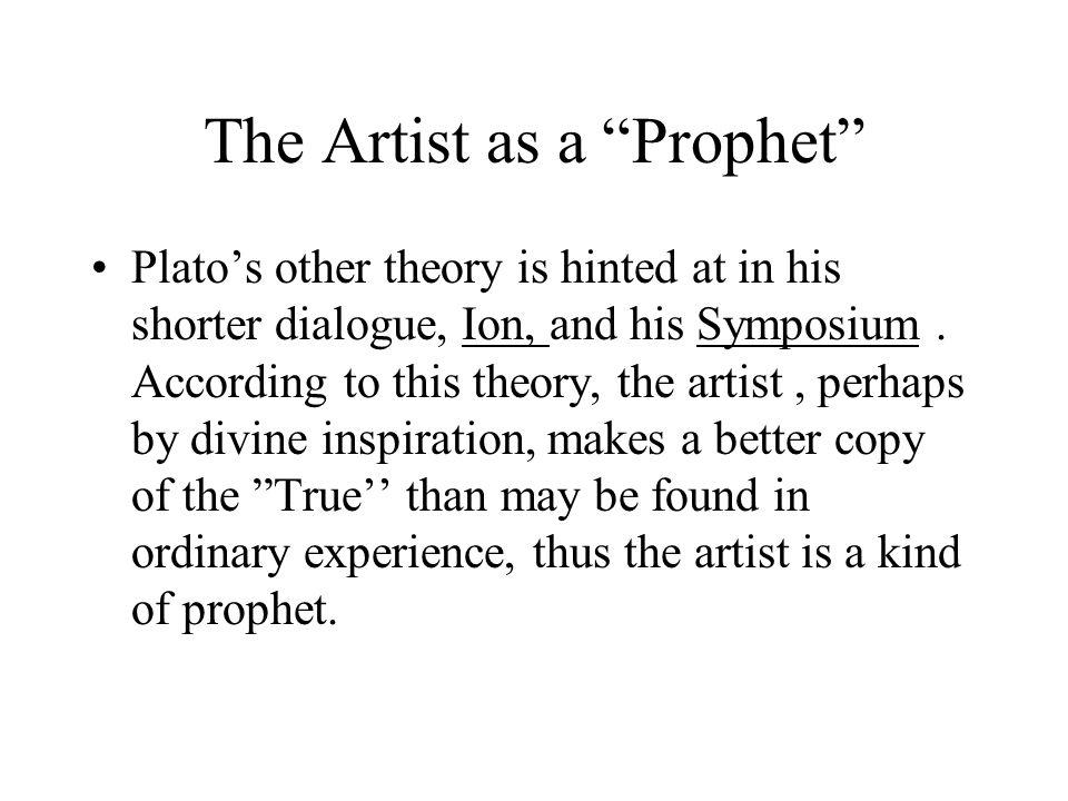 The Artist as a Prophet