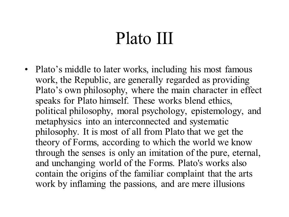 Plato III