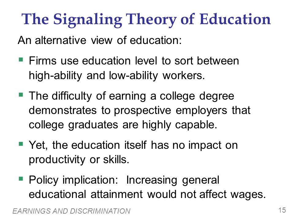 Reasons for Above-Equilibrium Wages