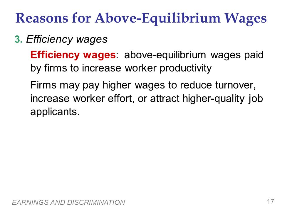A C T I V E L E A R N I N G 2 Explaining wage differentials