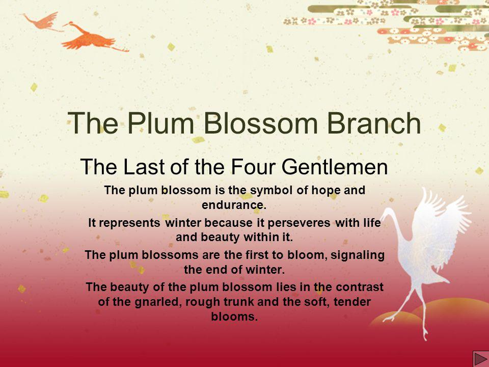 The Plum Blossom Branch