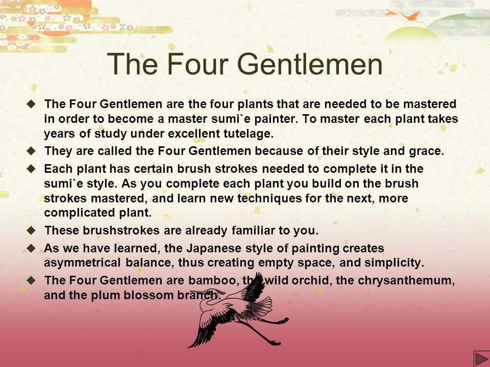 The Four Gentlemen