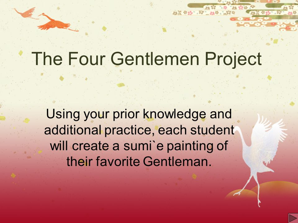 The Four Gentlemen Project