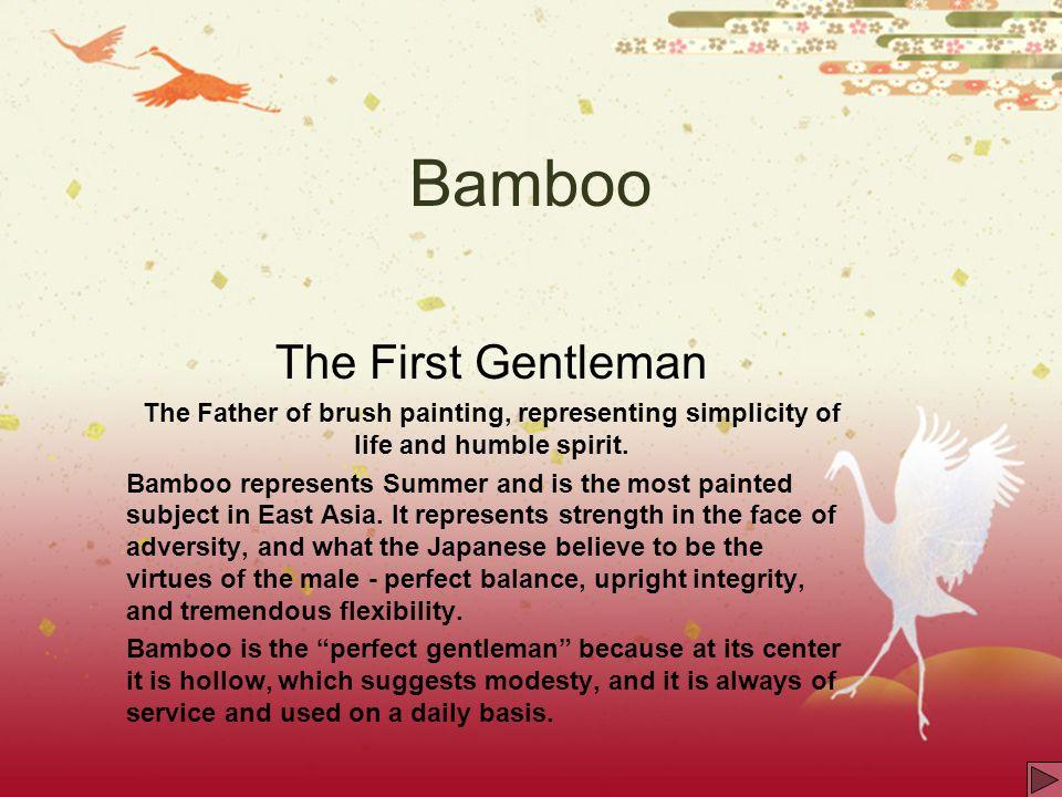 Bamboo The First Gentleman