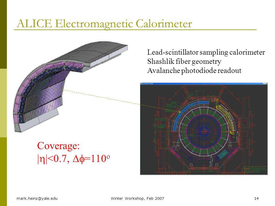 ALICE Electromagnetic Calorimeter