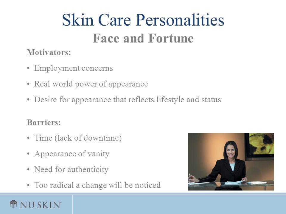 Skin Care Personalities