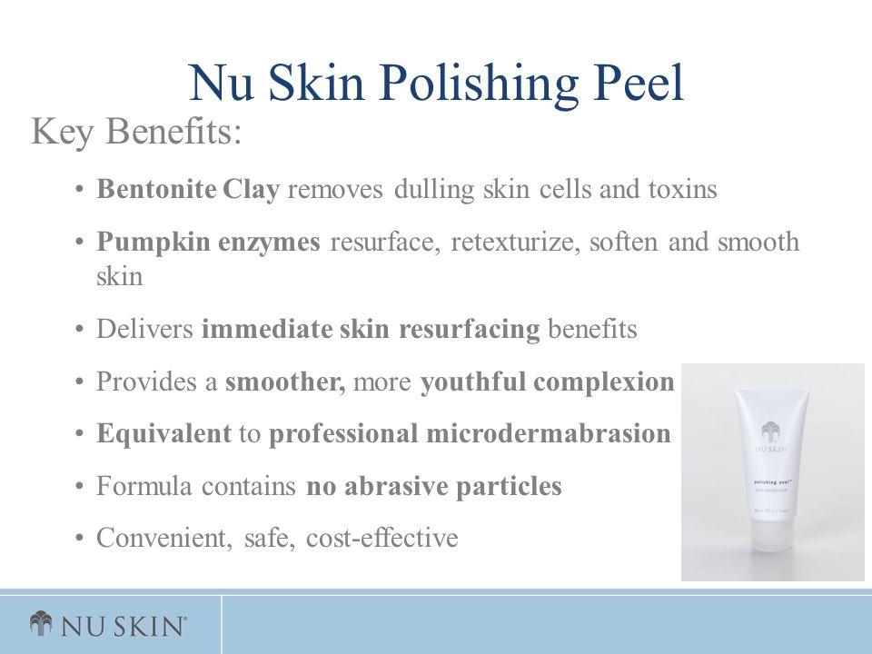 Nu Skin Polishing Peel Key Benefits: