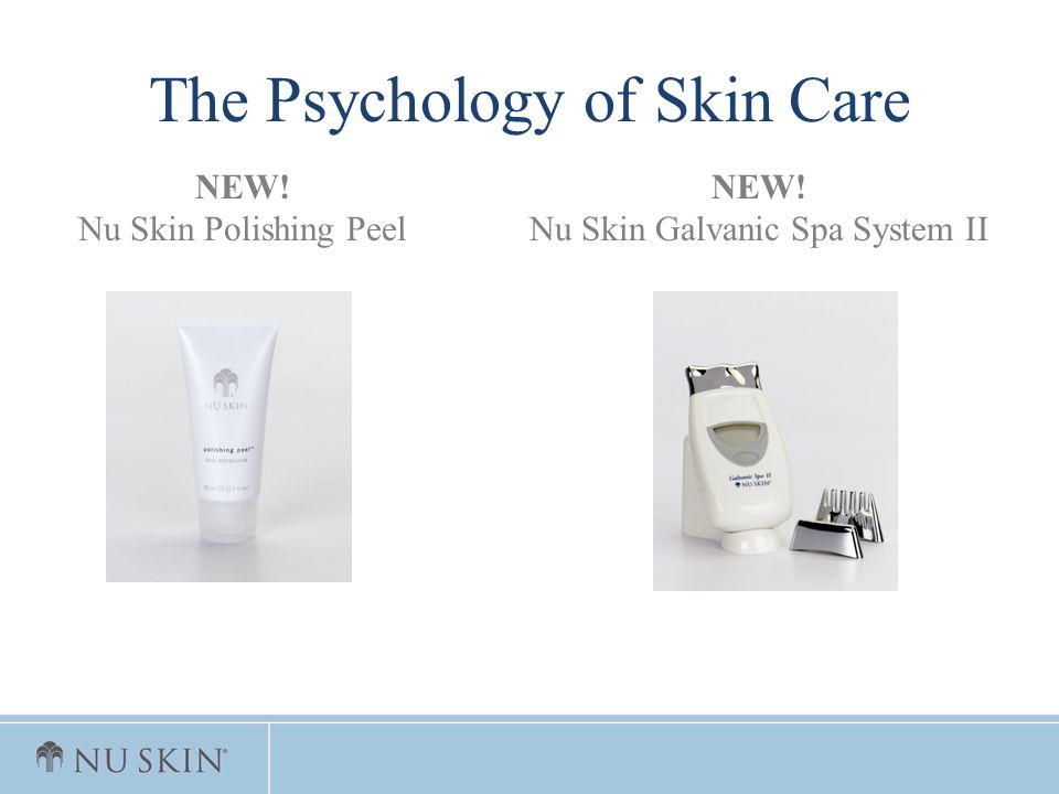 The Psychology of Skin Care