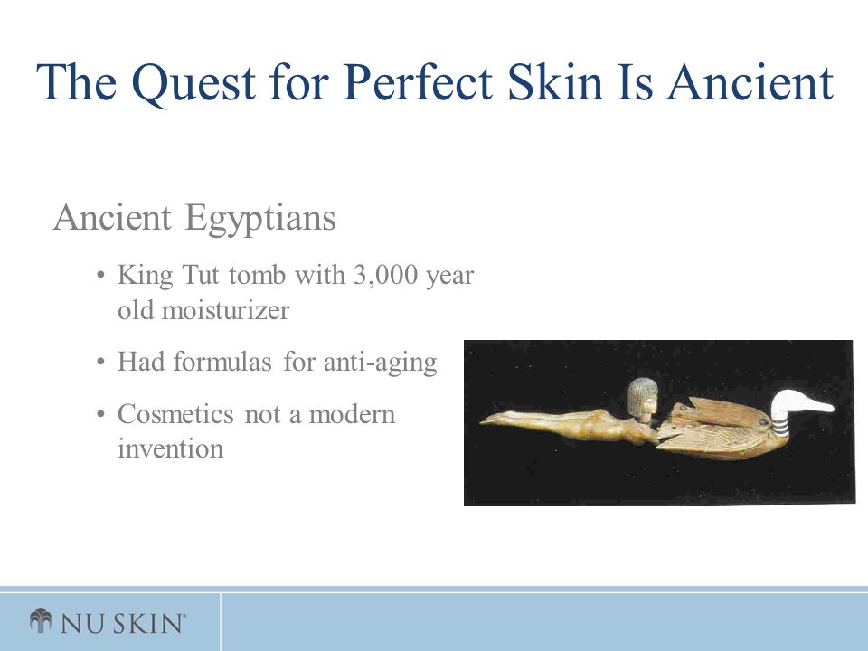 The Quest for Perfect Skin Is Ancient