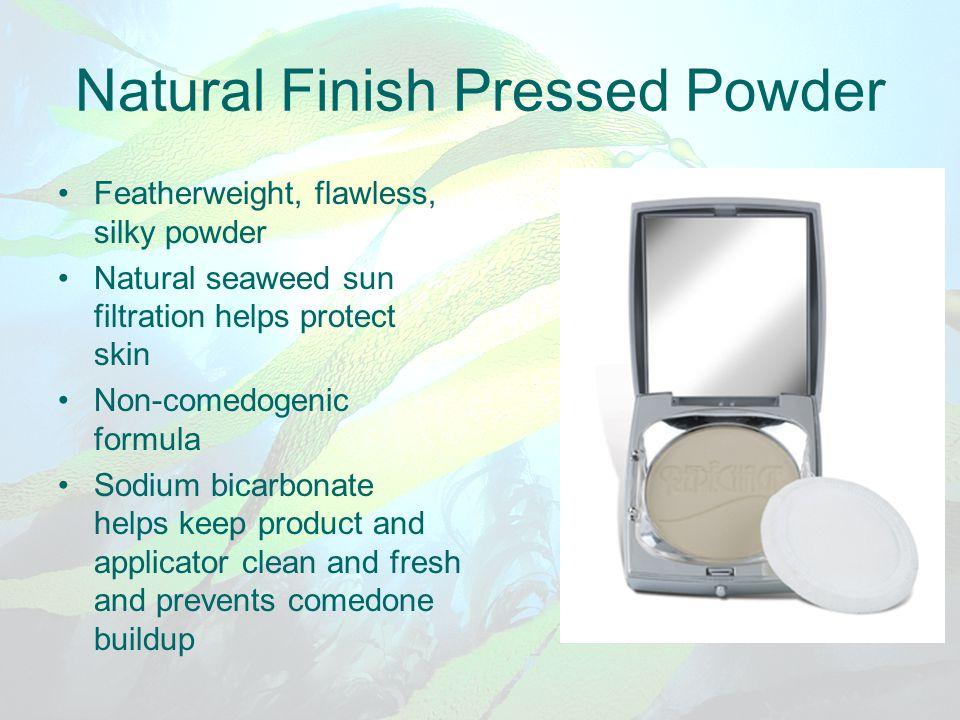 Natural Finish Pressed Powder