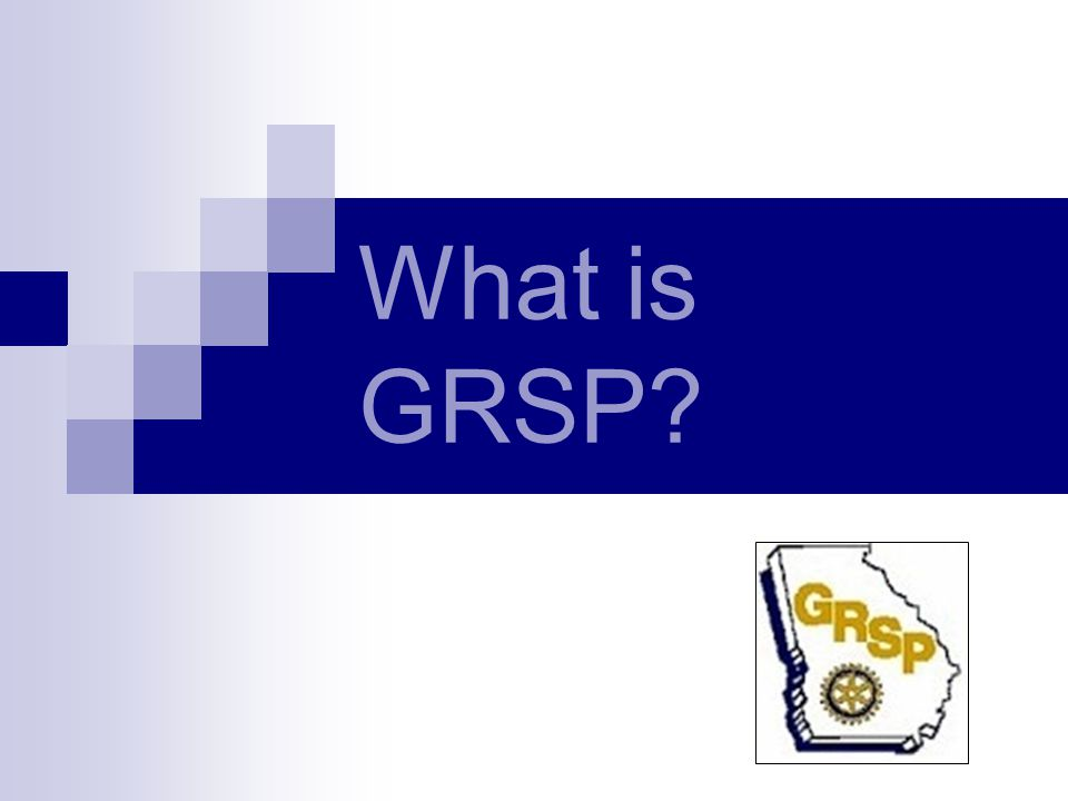 What is GRSP