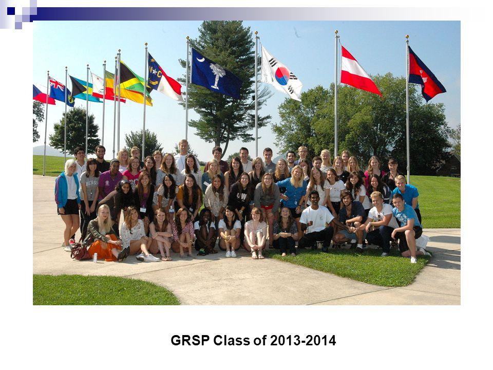 GRSP Class of 2012-2013 Grsp Class of 11-12 GRSP Class of 2013-2014