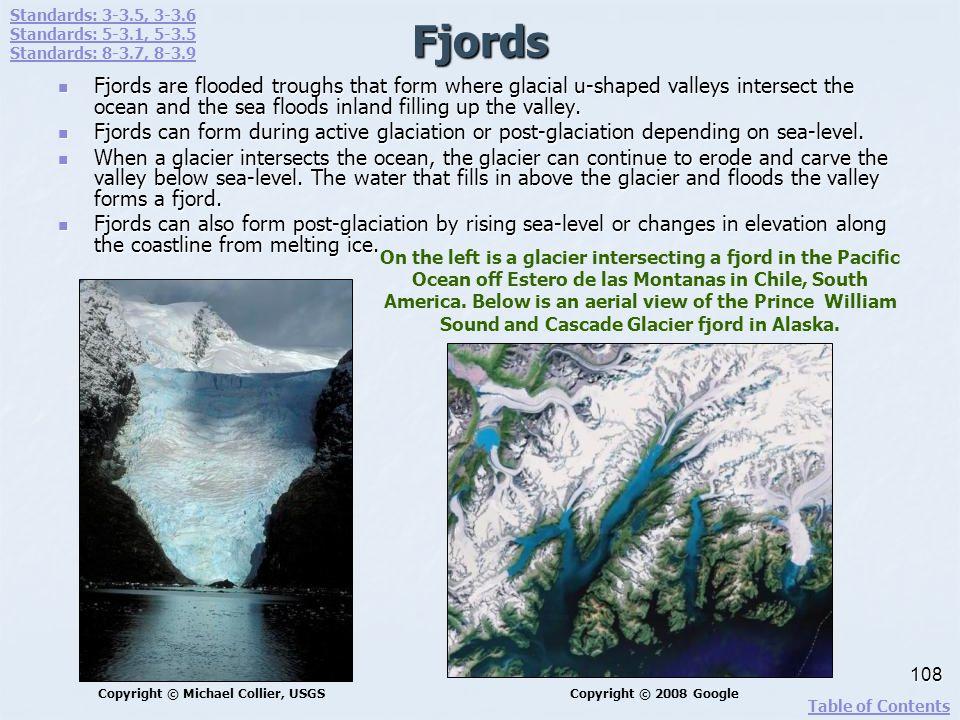 Standards: 3-3.5, 3-3.6 Standards: 5-3.1, 5-3.5. Standards: 8-3.7, 8-3.9. Fjords.