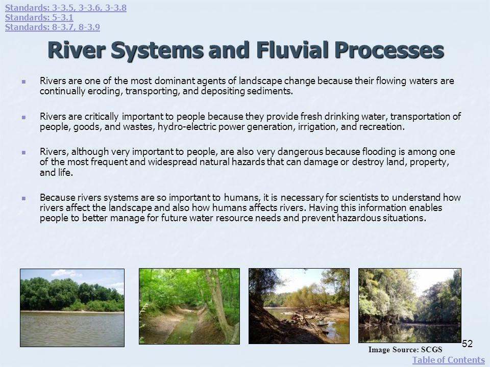 River Systems and Fluvial Processes