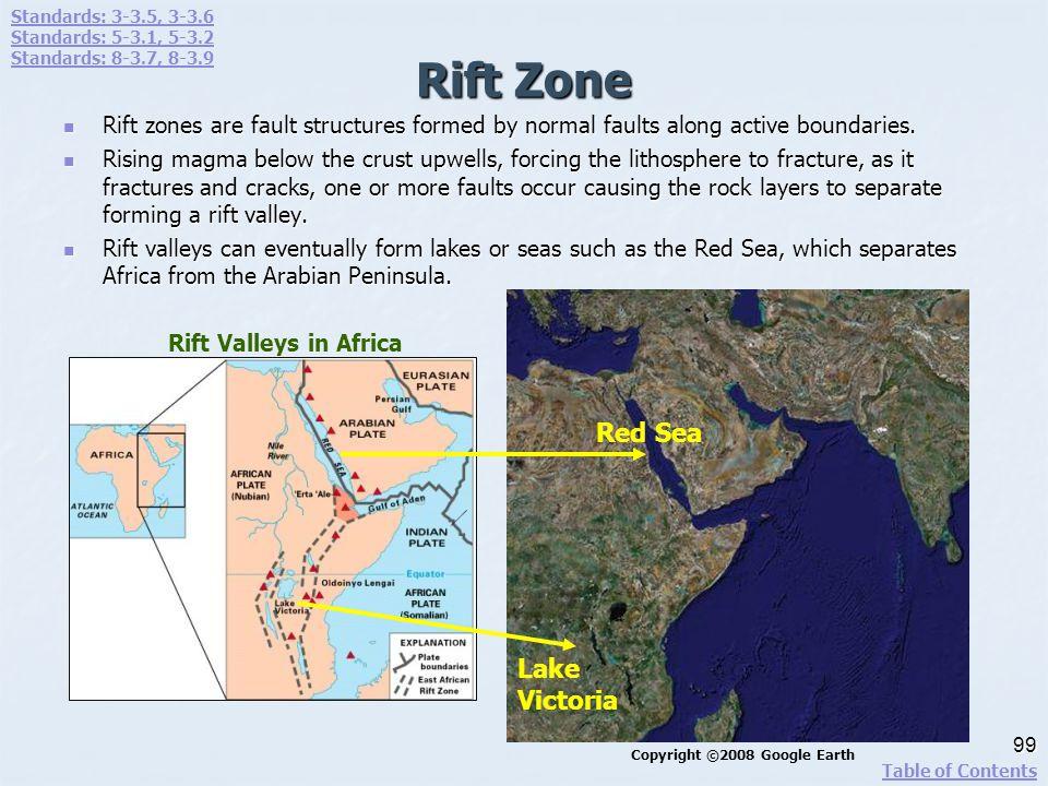 Rift Zone Red Sea Lake Victoria