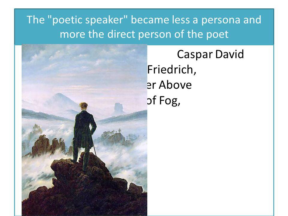 Caspar David Friedrich, Wanderer Above the Sea of Fog, 1817