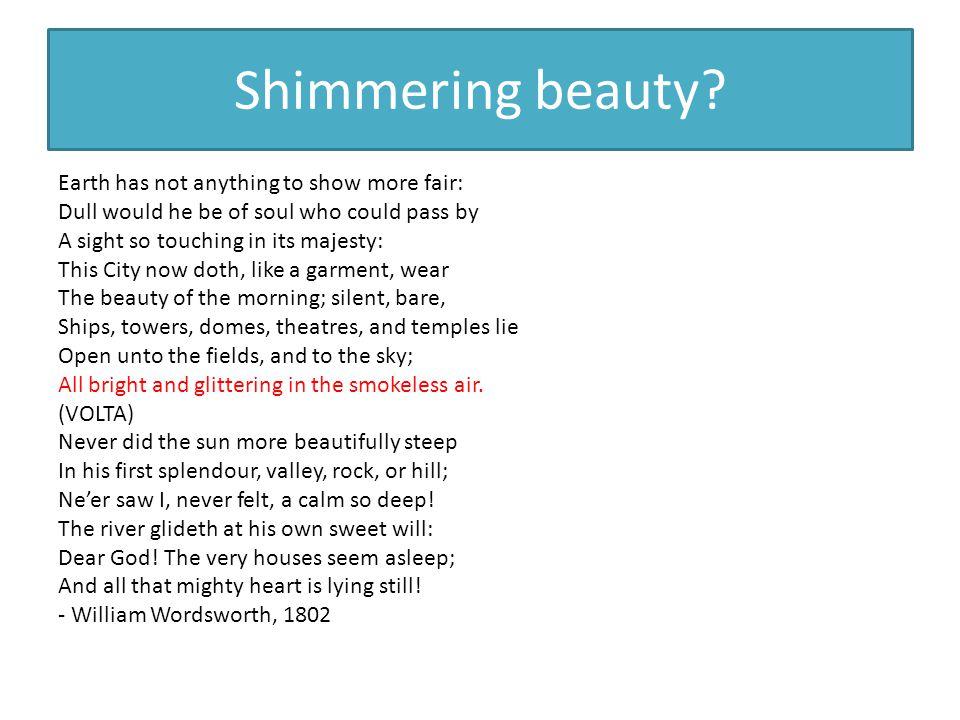 Shimmering beauty