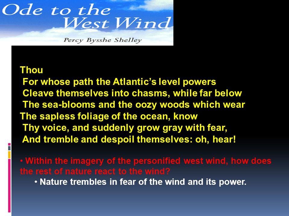 For whose path the Atlantic's level powers