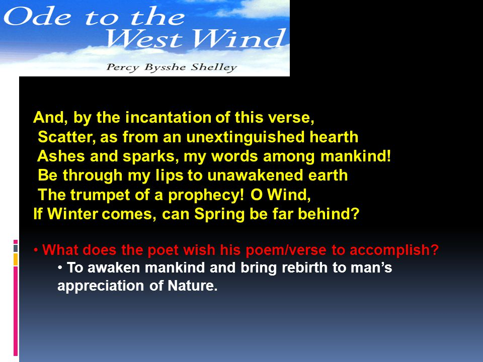 And, by the incantation of this verse,
