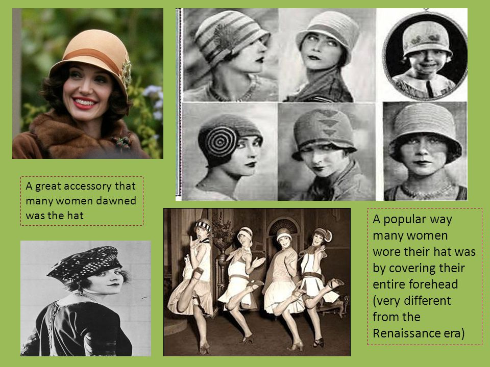 A great accessory that many women dawned was the hat
