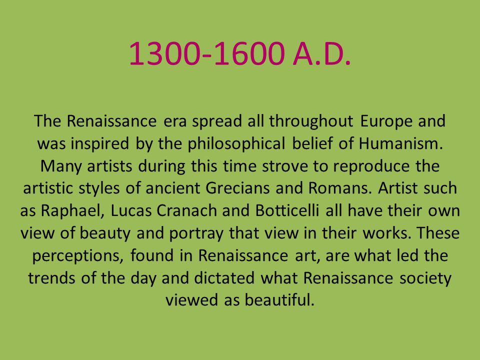 1300-1600 A.D.