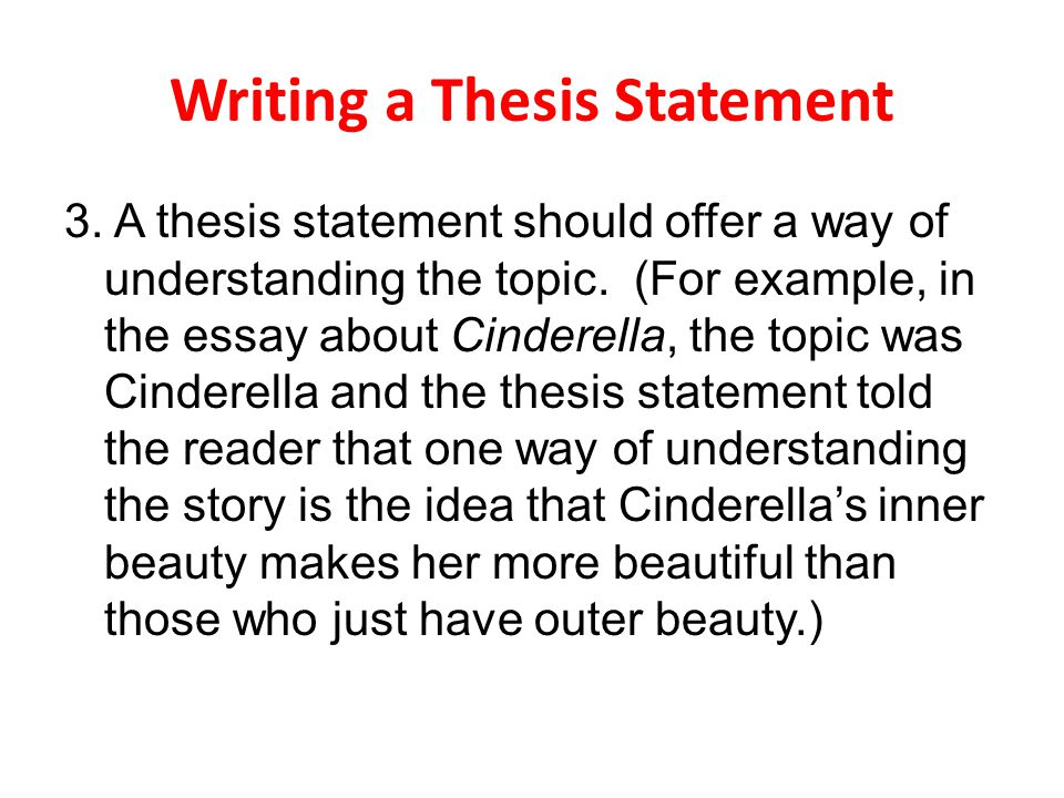 Essays on three wishes for cinderella