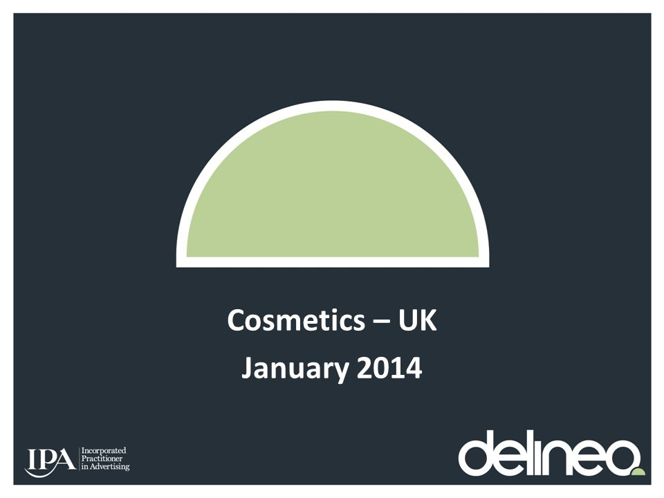Cosmetics – UK January 2014