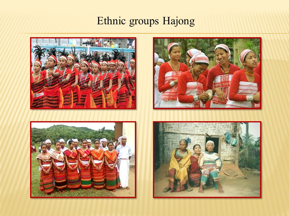Ethnic groups Hajong