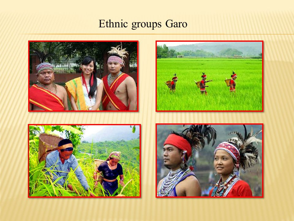 Ethnic groups Garo