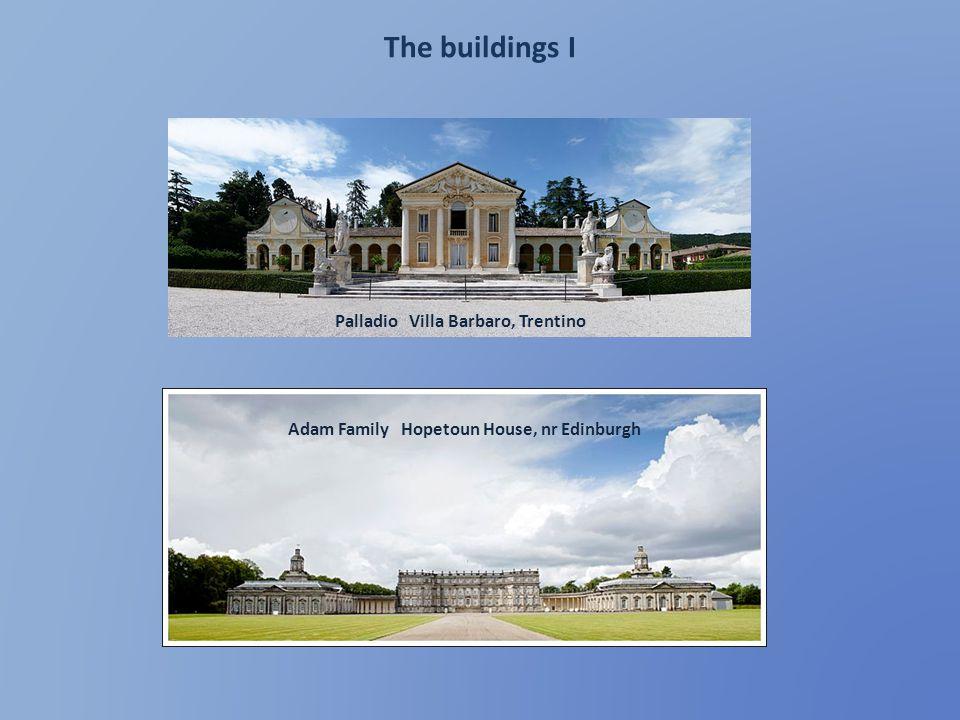 The buildings I Palladio Villa Barbaro, Trentino