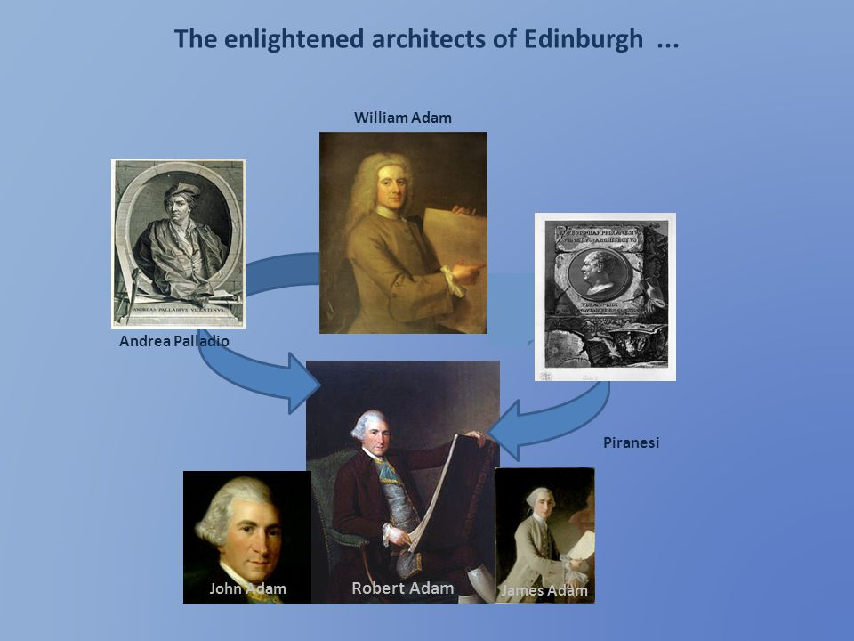 The enlightened architects of Edinburgh ...