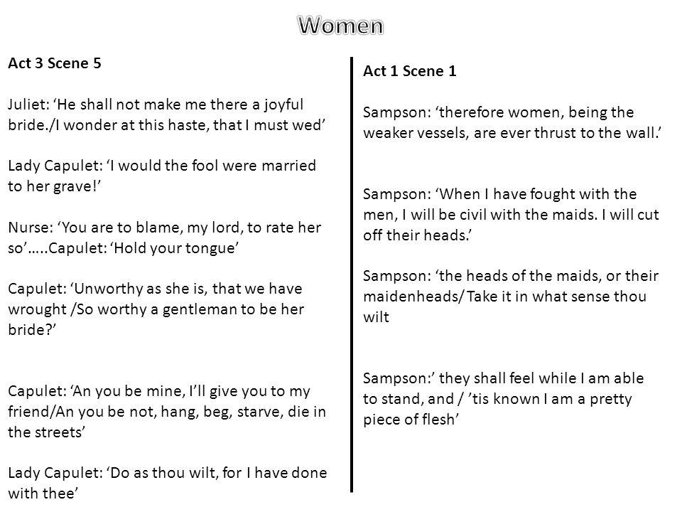 Women Act 3 Scene 5 Act 1 Scene 1