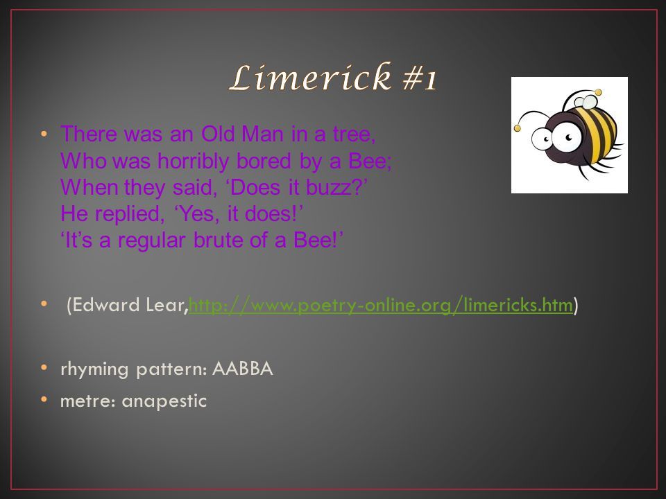 Limerick #1