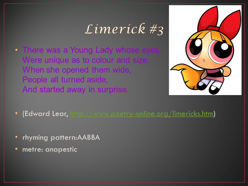 Limerick #3