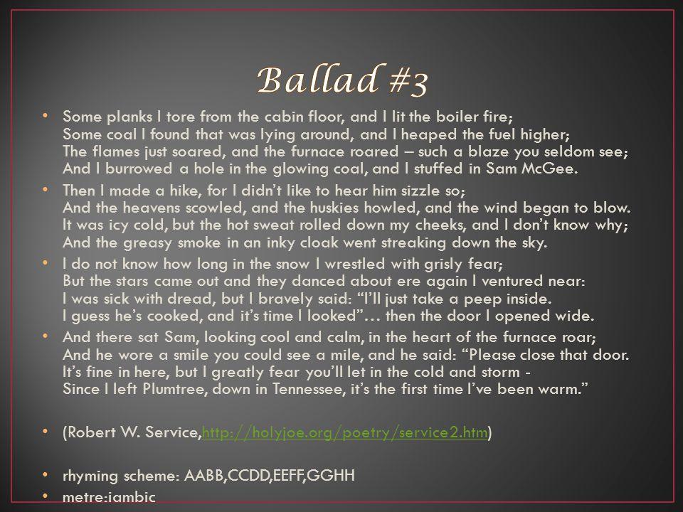 Ballad #3
