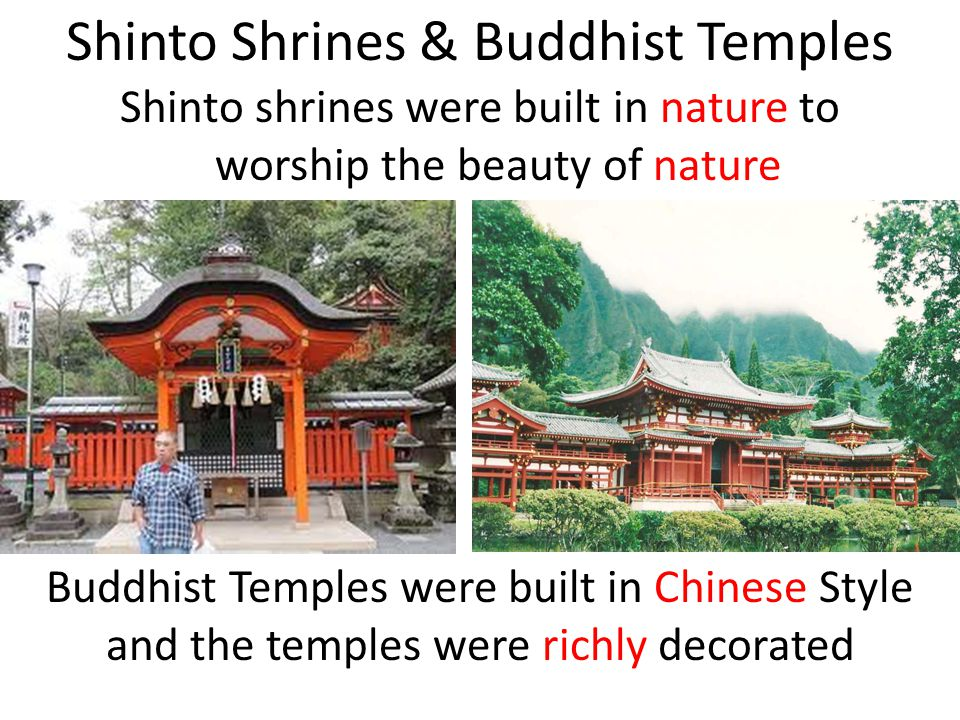 Shinto Shrines & Buddhist Temples