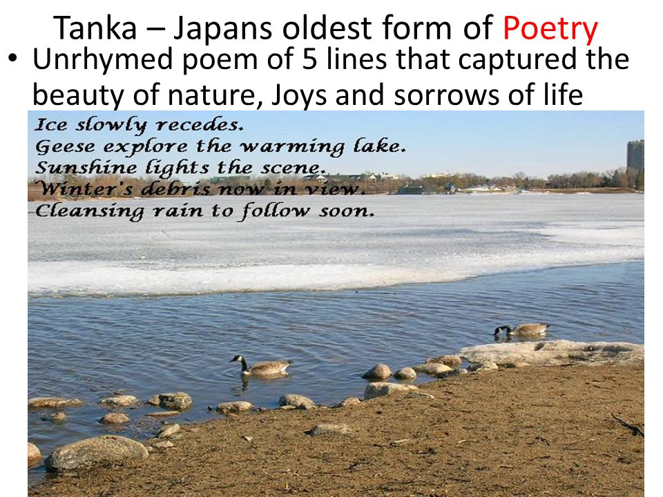 Tanka – Japans oldest form of Poetry