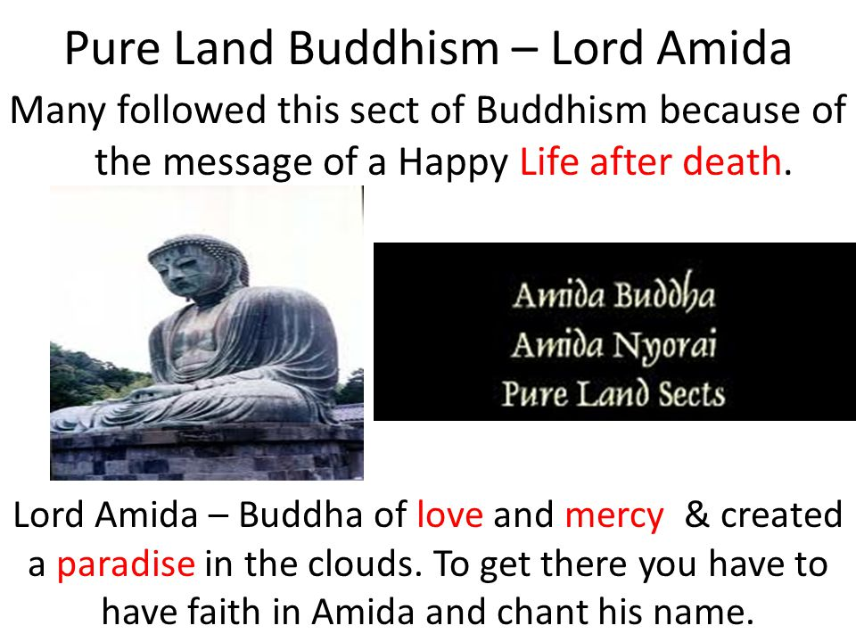 Pure Land Buddhism – Lord Amida