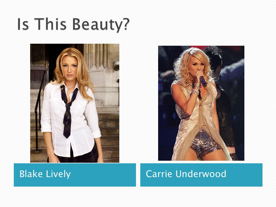 Is This Beauty Blake Lively Carrie Underwood