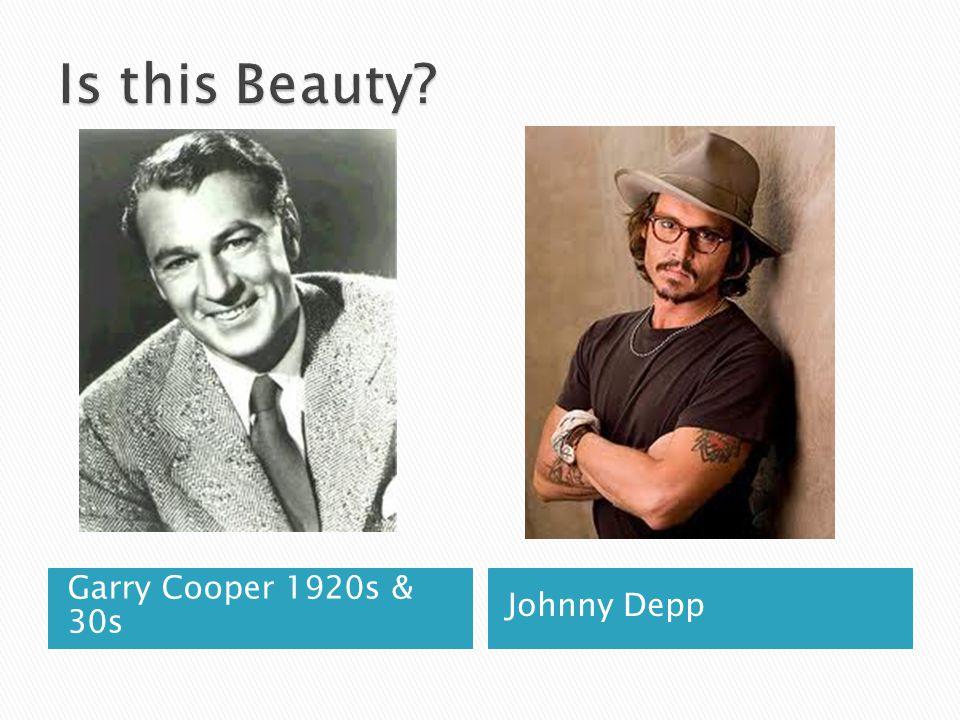 Is this Beauty Garry Cooper 1920s & 30s Johnny Depp