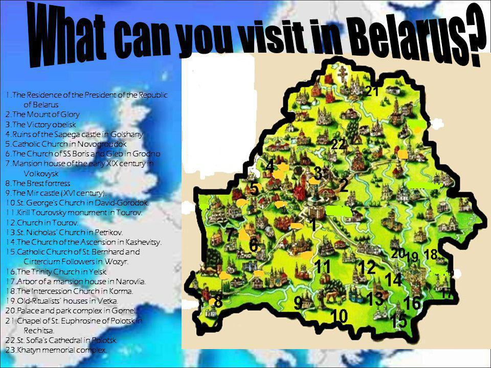 What can you visit in Belarus