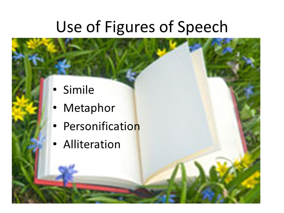 Use of Figures of Speech