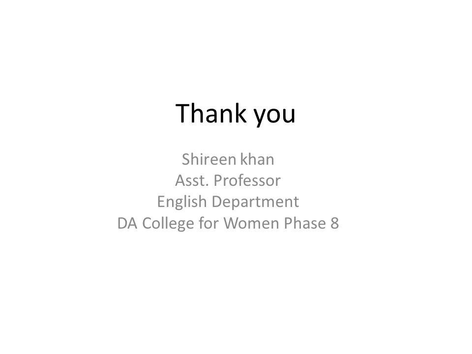 DA College for Women Phase 8