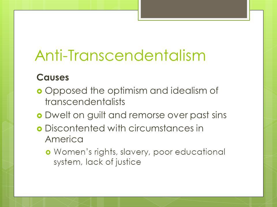 Anti-Transcendentalism