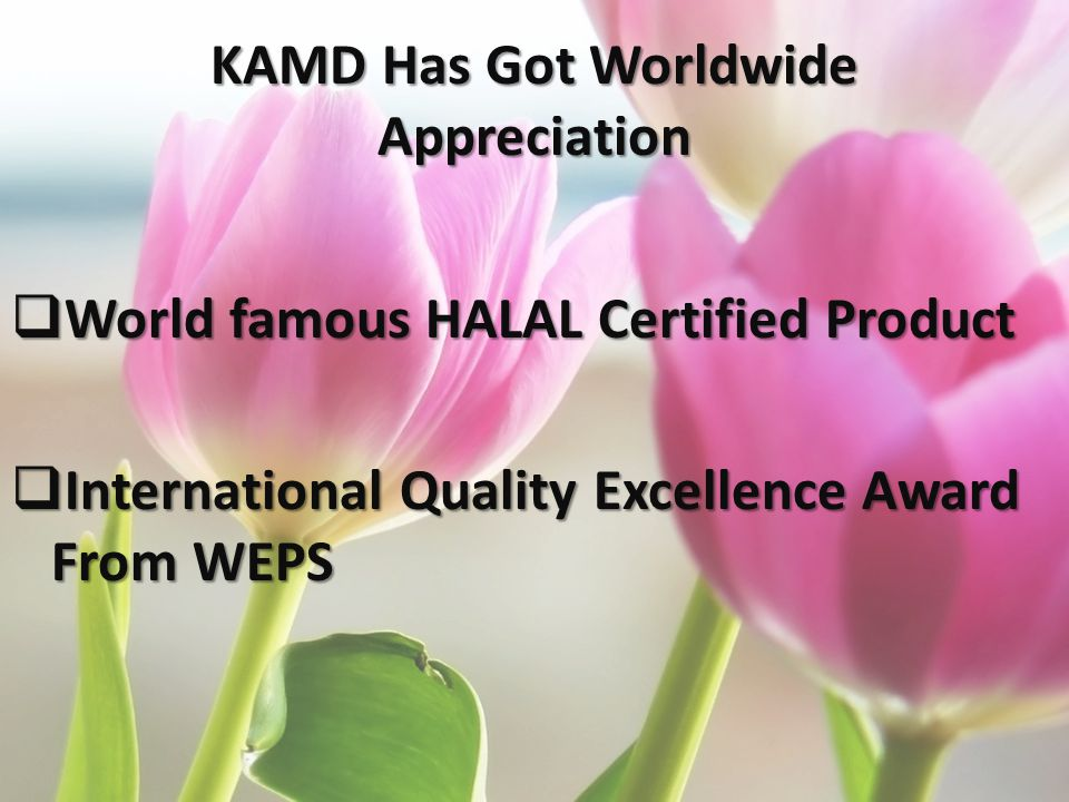KAMD Has Got Worldwide Appreciation