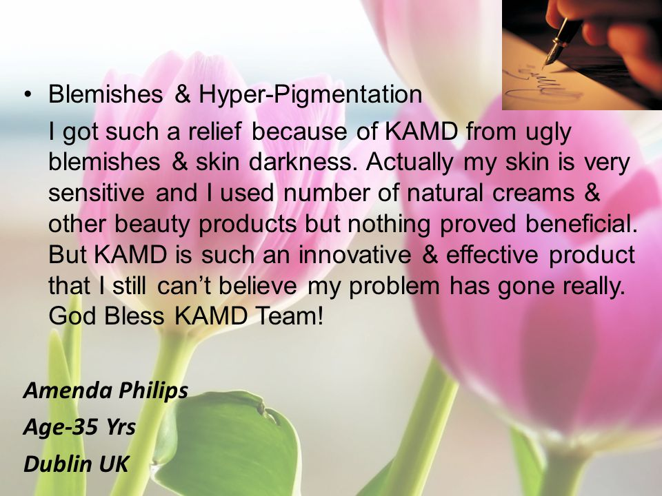 Blemishes & Hyper-Pigmentation