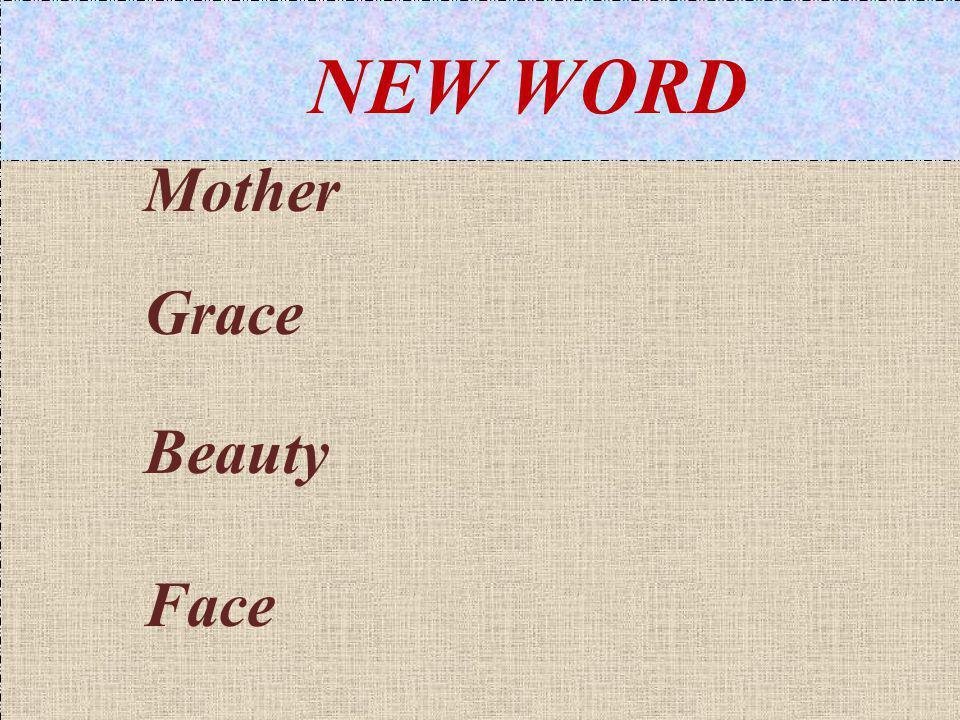Mother Grace Beauty Face